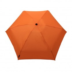 Mini parapluie de poche pliant - orange