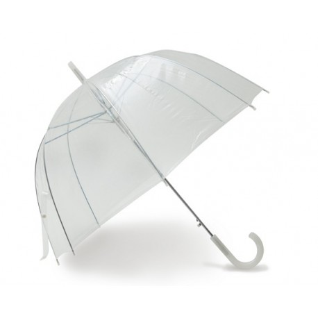 Grand parapluie transparent