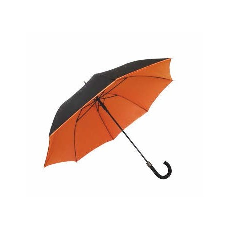 Parapluie double toile - orange