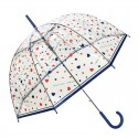 Parapluie transparent I Love Rain