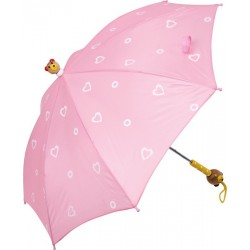 Parapluie rose animal