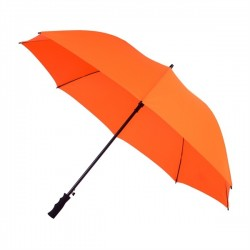 Parapluie de golf automatique résistant au vent - orange