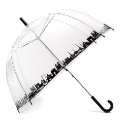 Parapluie transparent motif Paris