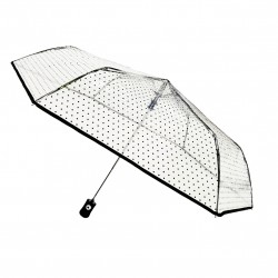 "Parapluie transparent ""Smart Bulle"" pliable"