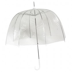 Parapluie coupole transparent
