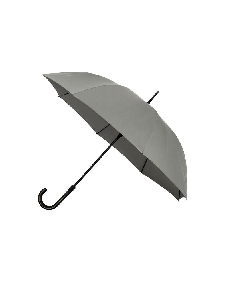Parapluie de luxe Falcone automatique résistant au vent - gris
