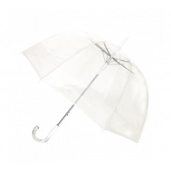Parapluie transparent simple en cloche
