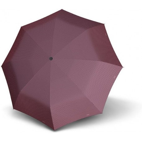 Parapluie pliant Doppler Magic Chic automatique résistant au vent - bordeau