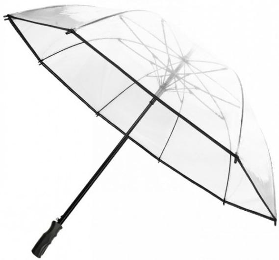 Un parapluie de golf transparent (réf.: BUL1010)