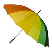 Image parapluie arc en ciel